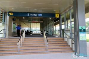 Mattar MRT Station - Exit B