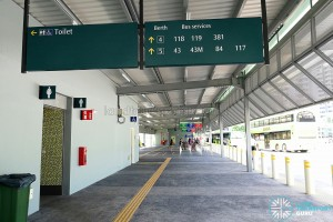 Punggol Bus Interchange: Expansion opened in October 2017