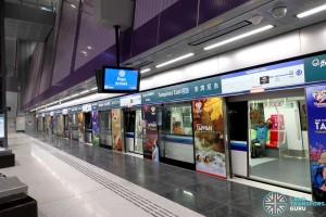 Tampines East MRT Station - Platform B