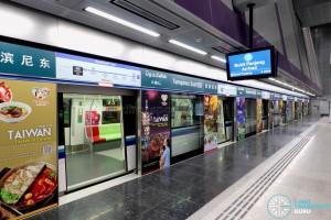 Tampines East MRT Station - Platform A