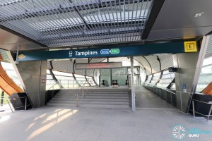 Tampines MRT Station - Exit E to Tampines Concourse