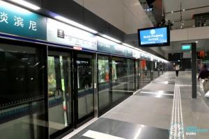 Tampines MRT Station - DTL Platform A