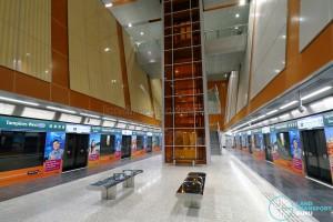 Tampines West MRT Station - Platform Level (B3)
