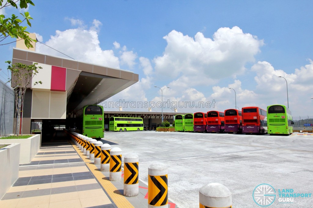 Tuas Bus Terminal - Bus Park