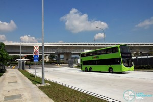 Tuas Bus Terminal - Vehicular ingress and egress