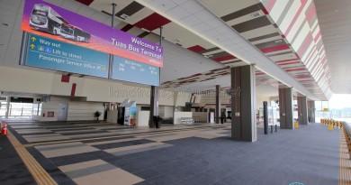 Tuas Bus Terminal - Main concourse (from Alighting berth)