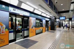 Ubi MRT Station - Platform A