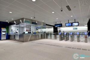 Ubi MRT Station - Faregates & PSC (B2)