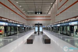 Upper Changi MRT Station - Platform level