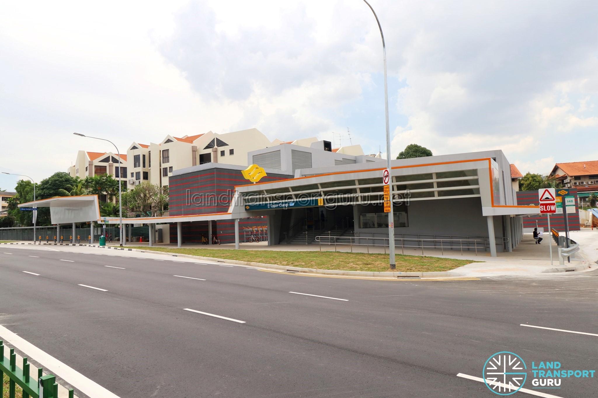 Upper Changi MRT Station - Exit A