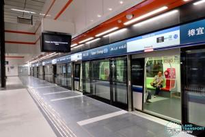 Upper Changi MRT Station - Platform B