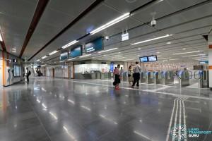 Upper Changi MRT Station - Ticket Concourse (B3)