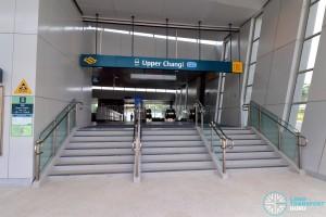 Upper Changi MRT Station - Exit B