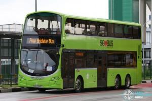 Tower Transit Volvo B9TL Wright (SBS3345L) - Tuas West Extension Bridging Bus