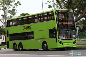 Tower Transit Alexander Dennis Enviro500 (SMB3509R) - Tuas West Extension Bridging Bus
