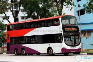 SMRT Volvo B9TL (SG5087E) - Service 979M