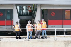 Joo Koon Train Collision (Straits Times photo)