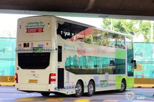 SBS Transit MAN A95 (SG2017C) - Service 71 - Rear