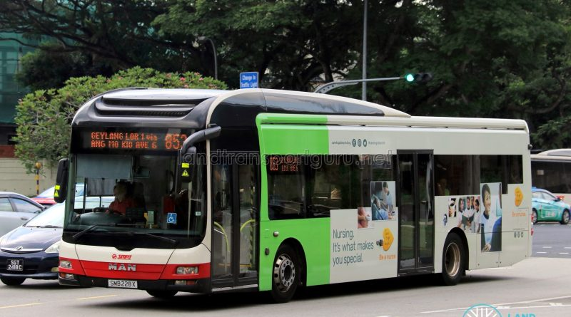 SMRT MAN NL323F A22 (SMB228X) - Service 853