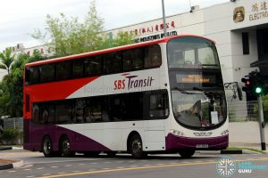 SBS Transit Volvo B9TL Wright (SBS3810K) - Shuttle 2: Joo Koon - Jurong East
