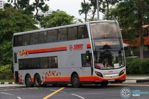 SMRT Alexander Dennis Enviro500 (SMB5002Y) - Shuttle 4: Choa Chu Kang - Jurong East