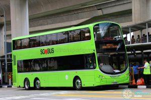 Tower Transit Volvo B9TL Wright (SG5018E) - Shuttle 2: Jurong East—Joo Koon