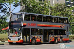 SMRT Alexander Dennis Enviro500 (SMB5063X) - Service 883