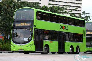 SMRT Volvo B9TL Wright (SG5172S) - Shuttle 4: Choa Chu Kang - Jurong East