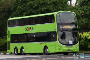 SMRT Volvo B9TL Wright (SG5513S) - Shuttle 4: Choa Chu Kang - Jurong East
