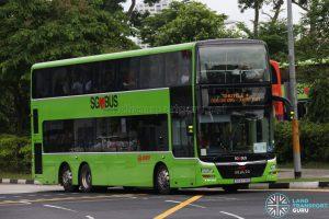 SMRT MAN Lion's City DD (SG5779S) - Shuttle 4: Choa Chu Kang - Jurong East