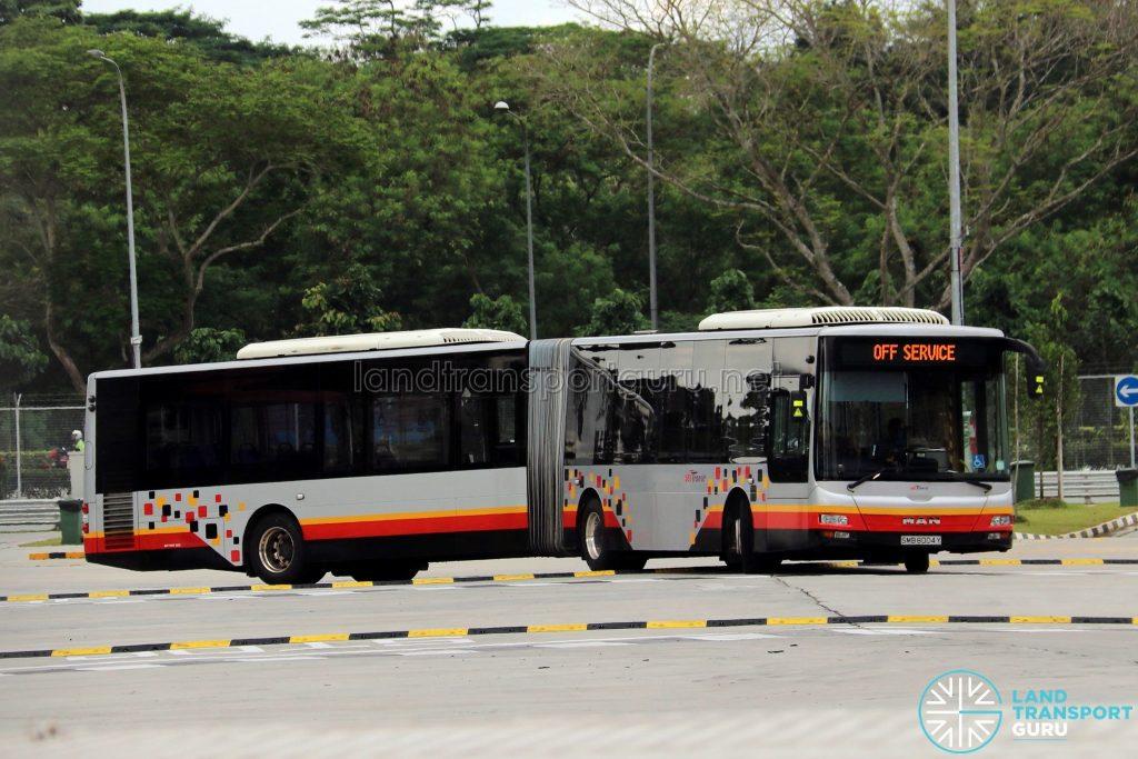 SBS Transit MAN NG363F A24 (SMB8004Y) - Training Bus