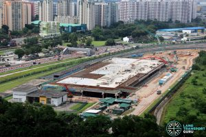 Construction overview of Gali Batu Expansion + Bus Terminal, December 2017