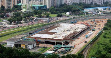 Construction overview of Gali Batu Expansion + Bus Terminal, December 2017