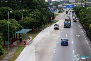 IKEA Tebrau: Bus Stop 2 along Jalan Pandan