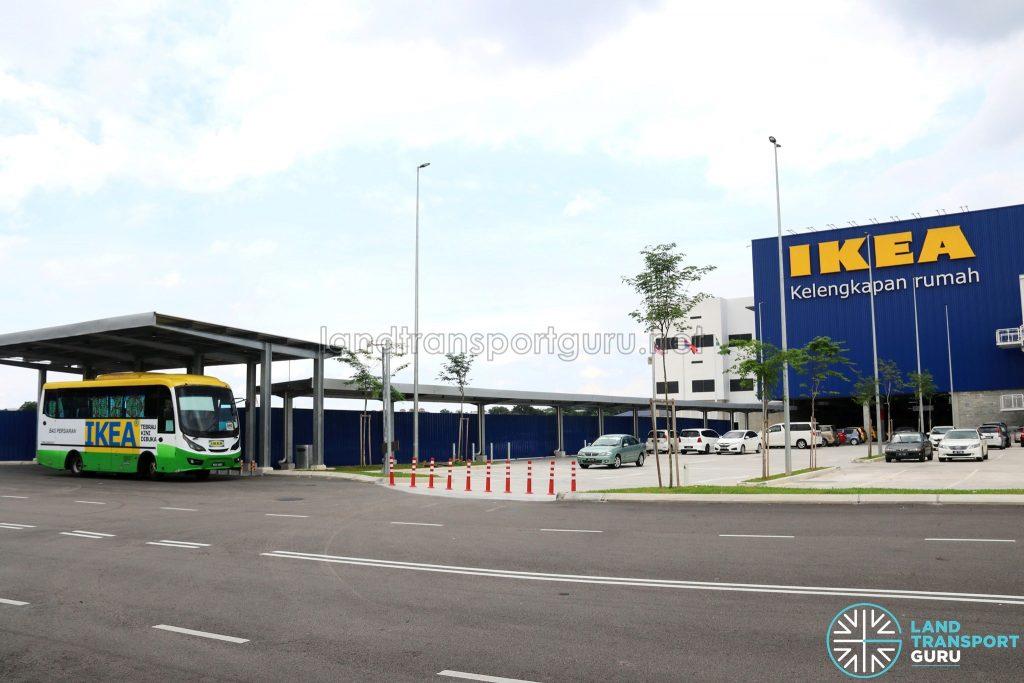 IKEA Tebrau Shuttle Bus - Pick-Up/Drop-Off point