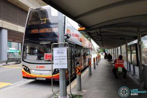Joo Koon—Gul Circle Free Shuttle Bus Service at Joo Koon