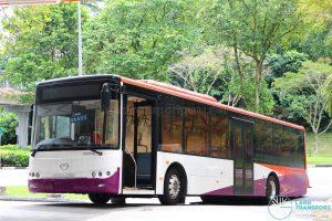 King Long XMQ6121G Hybrid (Unregistered)