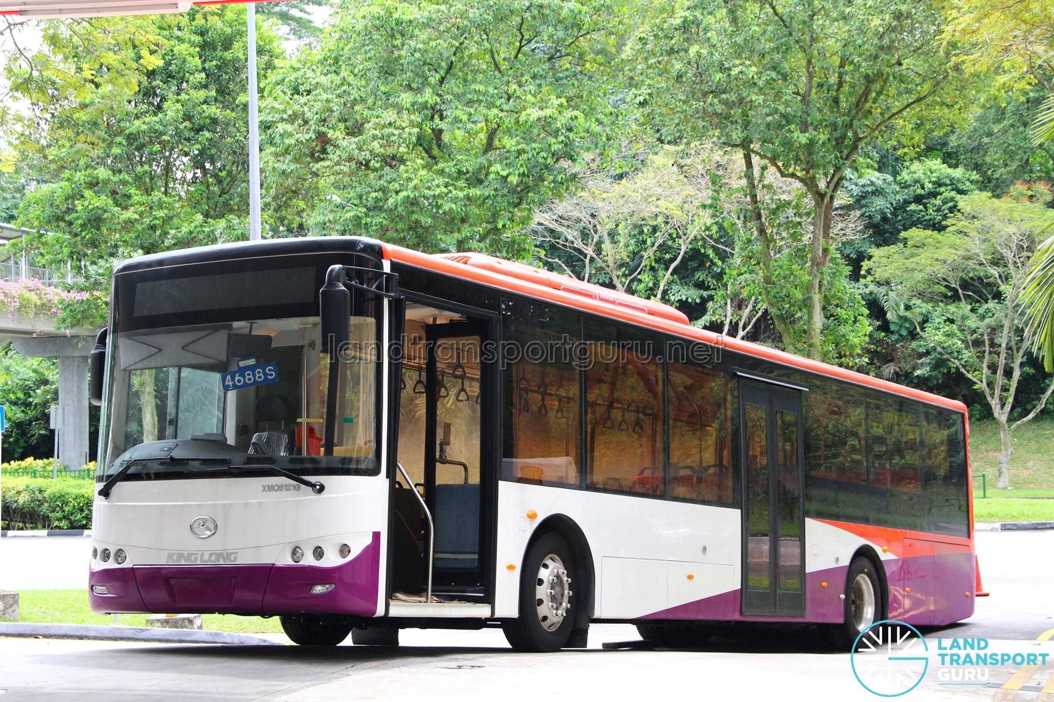 King Long XMQ6121G Hybrid