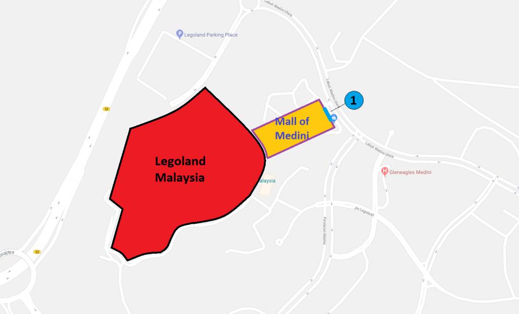 Legoland Transport Map