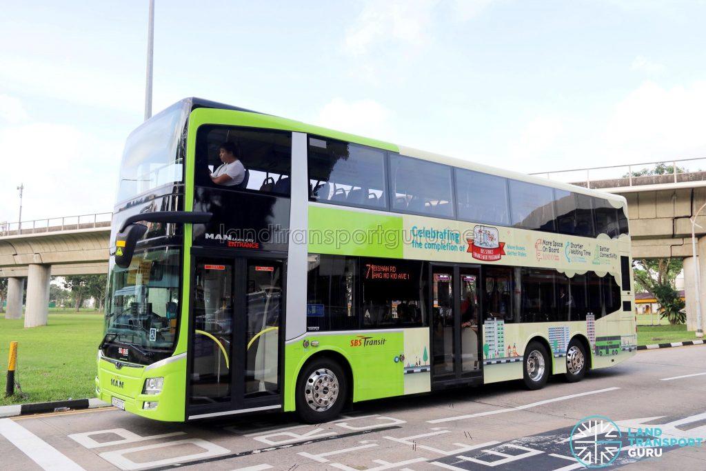 SBS Transit MAN A95 (SG2017C) - Service 71 - Advertising Wrap