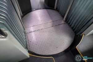 MAN NG363F (SMB388S): Articulation Unit turntable platform