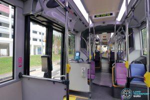 MAN NG363F (SMB388S): Rear cabin interior