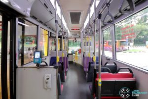 MAN NG363F (SMB388S): Front cabin interior