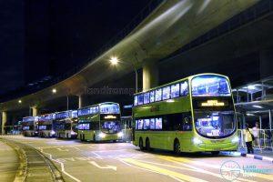Shuttle Buses along Venture Avenue - Shuttle 2: Jurong East - Joo Koon
