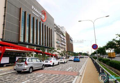 Paradigm Mall: Exterior