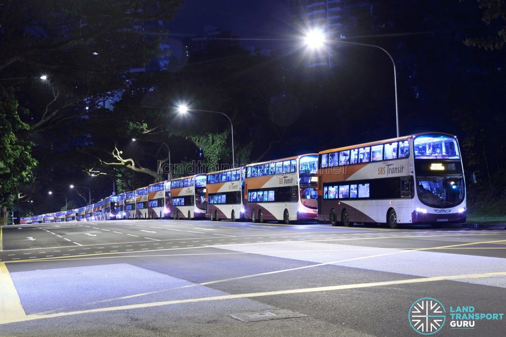 SCSM 2017: Buses lining up to drop off passengers at Orchard