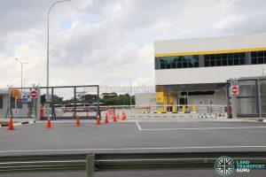 Seletar Bus Depot: Vehicular Exit