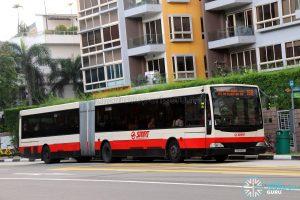 SMRT Buses Mercedes-Benz O405G (TIB1193C) - Service 188