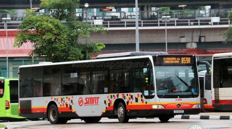 SMRT Mercedes Benz Citaro (SG1693G) - Service 859A