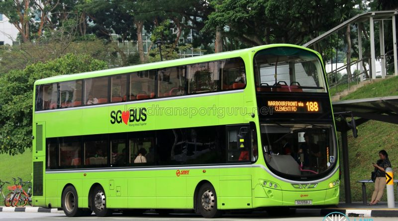 SMRT Buses Volvo B9TL Wright (SG5158J) - Service 188